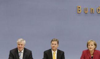 Die Spitzen der Koalition (Foto)