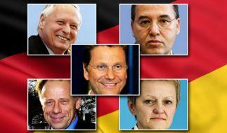Die Spitzenkandidaten von FDP, Grünen und Linken (Foto)