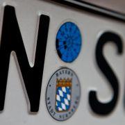 Die Stadt Nürnberg bietet allen Autofahrern mit dem Kürzel N-SU an, das Kennzeichen kostenfrei zu ändern.