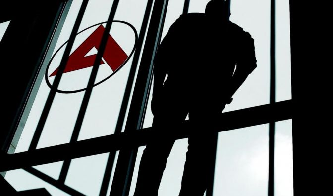 Die Stimmung in den Jobcentern ist zunehmend aggressiv. (Foto)
