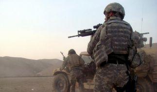 Die Taliban kündigen den ausländischen Streitkräften einen langen Krieg an. (Foto)