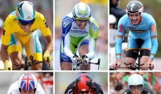 Die Topfavoriten der Tour de France (Foto)