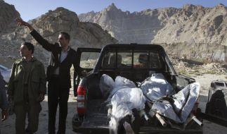 Die zwei Toten in Afghanistan sind höchstwahrscheinlich Deutsche (Foto)