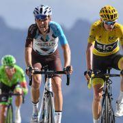 Chris Froome fährt zum Gesamtsieg bei der Tour de France 2017 (Foto)