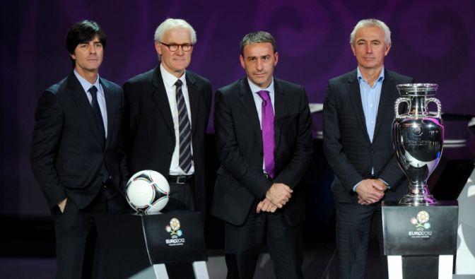 Die Trainer der Mannschaften der EM-Gruppe B (Foto)