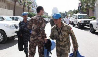 Die UN-Beobachtermission in Syrien endet am 20. Juli - ob und wie sie fortgesetzt wird, ist im UN-Sicherheitsrat umstritten. (Foto)