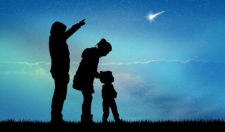 Die Ursiden flitzen kurz vor Weihnachten über den Nachthimmel. (Foto)