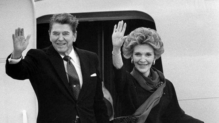 Die ehemalige US-First-Lady Nancy Reagan ist an Herzversagen gestorben. (Foto)