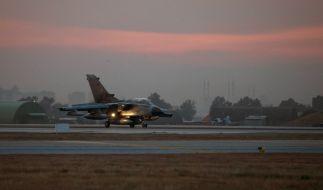 Die USA fordern mehr deutsche Tornados in Syrien. (Foto)