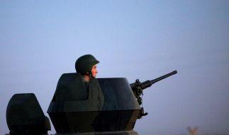 Die USA drohen mit einem Militärschlag, sollte Assad Chemiewaffen einsetzen. (Foto)