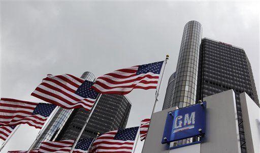 Die Verwaltung von General Motors in Detroit. (Foto)