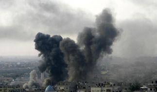 Die erhoffte Waffenruhe scheint im Angriffswahnsinn zwischen Israel und dem Gaza-Streifen unterzugehen. (Foto)