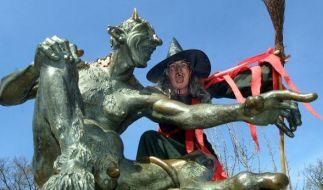 Die Walpurgisnacht im Harz wird vielerorts zelebriert. (Foto)