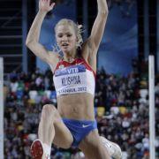 Die russische Weitspringerin Darya Klishina gilt als die schönste Leichtathletin der Welt. Für die Medaillenplätze sprang sie in Moskau aber zu kurz.