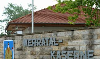 Die Werratal-Kaserne in Thüringen. (Foto)