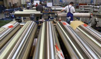 Die deutsche Wirtschaft hat im zweiten Quartal etwas an Schwung verloren. (Foto)