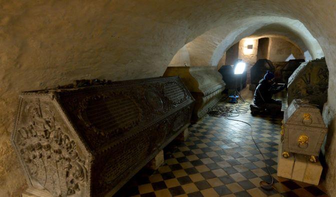 Die Wolfenbütteler Fürstengruft: In einer ähnlich aussehenden Gruft wurde Augusts Tochter Augusta Constantia Gräfin von Friesen irrtümlich begraben. (Symbolbild) (Foto)
