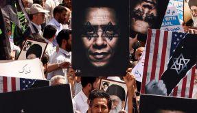 Die Wut der Demonstranten richtet sich vor allem gegen die USA und Israel. (Foto)