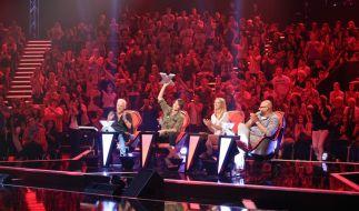 Die neue X Factor-Jury: H.P. Baxxter, Sarah Connor, Sandra Nasic und Moses Pelham. (Foto)