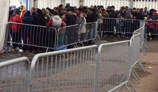 Die Zahl der in Deutschland ankommenden Flüchtlinge geht derzeit zurück. (Foto)