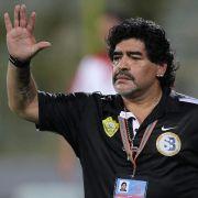 Diego Maradona soll neuer Trainer im Irak werden.