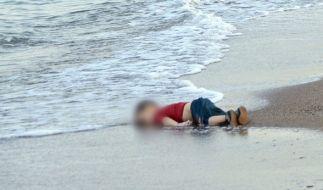 Dieses Foto des toten Aylan ging um die Welt. (Foto)