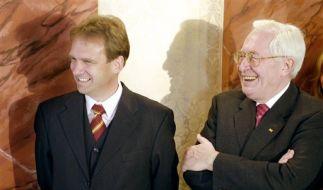 Dieter Althaus (CDU) und Bernhard Vogel (CDU) (Foto)