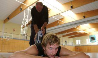 Dirk Nowitzki & Holger Geschwindner (Foto)