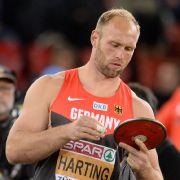 Diskus-Werfer Robert Harting. (Foto)