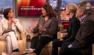 Diskussionsrunde bei Sandra Maischberger (Foto)