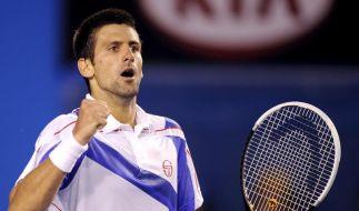 Djokovic gewinnt Australian Open (Foto)