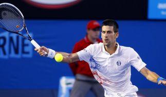 Djokovic nach Sieg gegen Ferrer im Halbfinale (Foto)