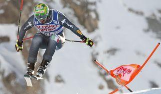 Dominik Paris hat die Abfahrt auf der Streif in Kitzbühel gewonnen. (Foto)