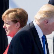 Nach Abkehr von USA - Trump schießt gegen Merkel (Foto)