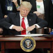Donald Trump greift bei Minderheiten weiter hart durch. (Foto)