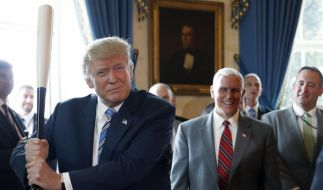 Donald Trump hat an der Uhr gedreht. (Foto)