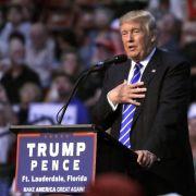 Donald Trump ist der erste Präsidentschaftskandidat, der seine Steuererklärung unter Verschluss hält. (Foto)