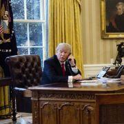 Trump bricht wegen Flüchtlingsdeal Telefonat mit australischem Premier ab (Foto)