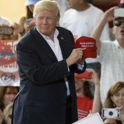 Donald Trump während seines Auftritts in Florida. (Foto)