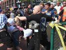 Gewalttätige Proteste wegen Donald Trump