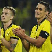 Dortmund feiert mit Marco Reus (links) und Sebastian Kehl einen erfolgreichen Saisonauftakt.