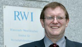 Dr. Roland Döhrn vom Rheinisch-Westfälischen Institut für Wirtschaftsforschung. (Foto)