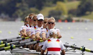 Drei deutsche Ruder-Teams kämpfen um Olympia-Tickets (Foto)