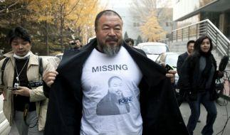 Drei Jahre begleitete die US-Regisseurin Klayman den chinesischen Künstler und Regimekritiker Ai Weiwei mit der Kamera. (Foto)