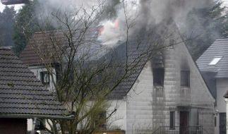 Drei kleine Kinder sterben in brennendem Haus (Foto)