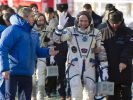 Drei Raumfahrer auf dem Weg zur ISS (Foto)