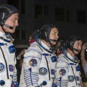 Drei Raumfahrer gelangen mit Verzögerung zur ISS (Foto)