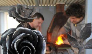 Drei «Rosen für Norwegen» aus Chemnitz fertig (Foto)