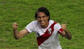 Drei Tore von Guerrero: Peru Dritter bei Copa (Foto)