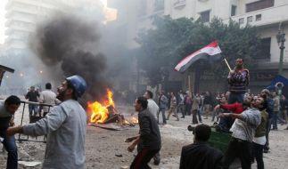 Drei Tote und Verletzte bei Unruhen in Kairo (Foto)